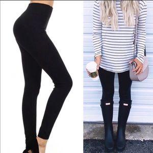 Pants - Basic Black Leggings NWT